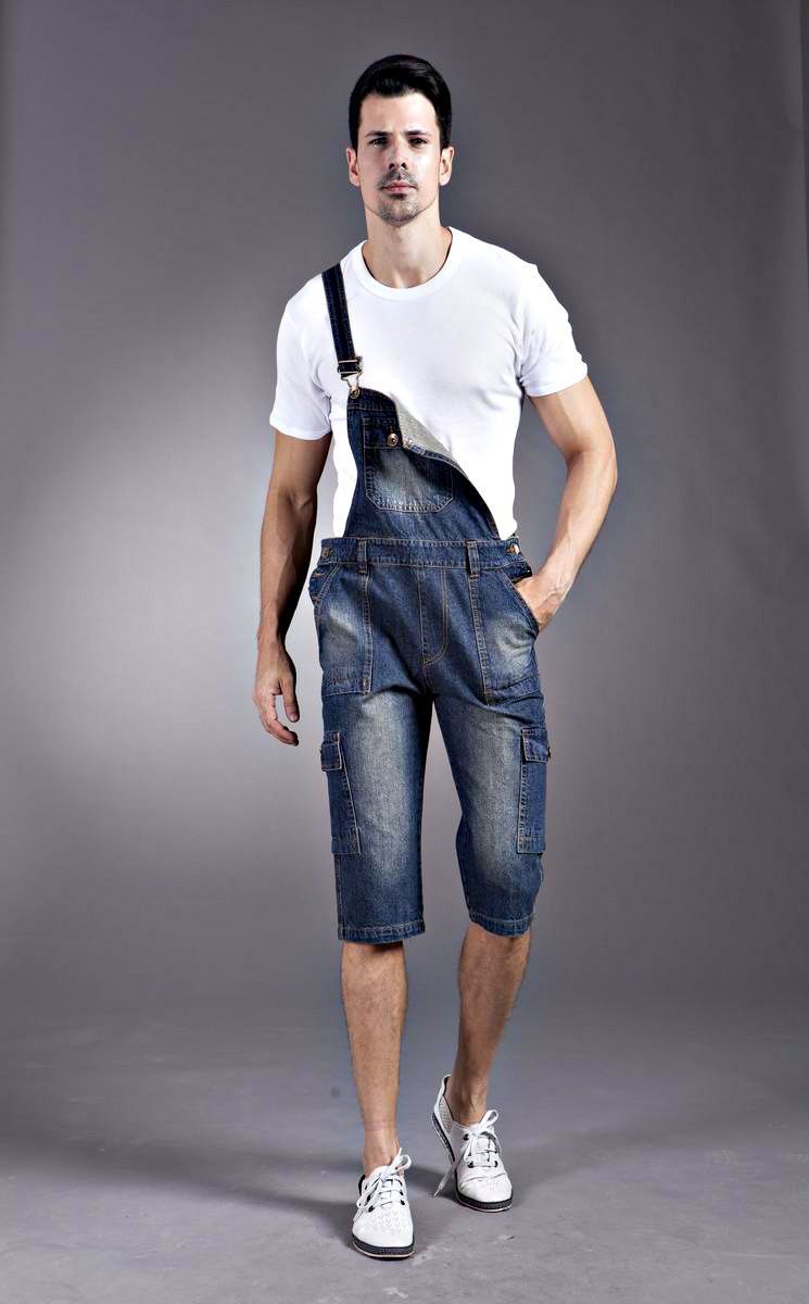 Be prepared a long day of work with men's overalls Rather than run the risk of ruining your favorite pair of jeans, slip on a pair of men's overalls before you head to work. Sears' selection includes traditional denim with triple stitching for added durability as well as white painter's bib overalls.