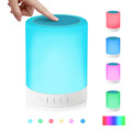Portable Touch Sensor LED Dimmable Lamp Bluetooth Speaker With TF Card for MP3 Player Hands free