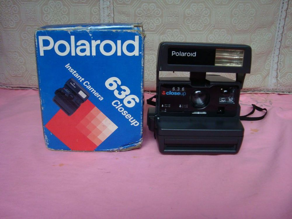 Product phase function well - Polaroid 636 instant cameras / camera [old] Detailing lgsdlj store