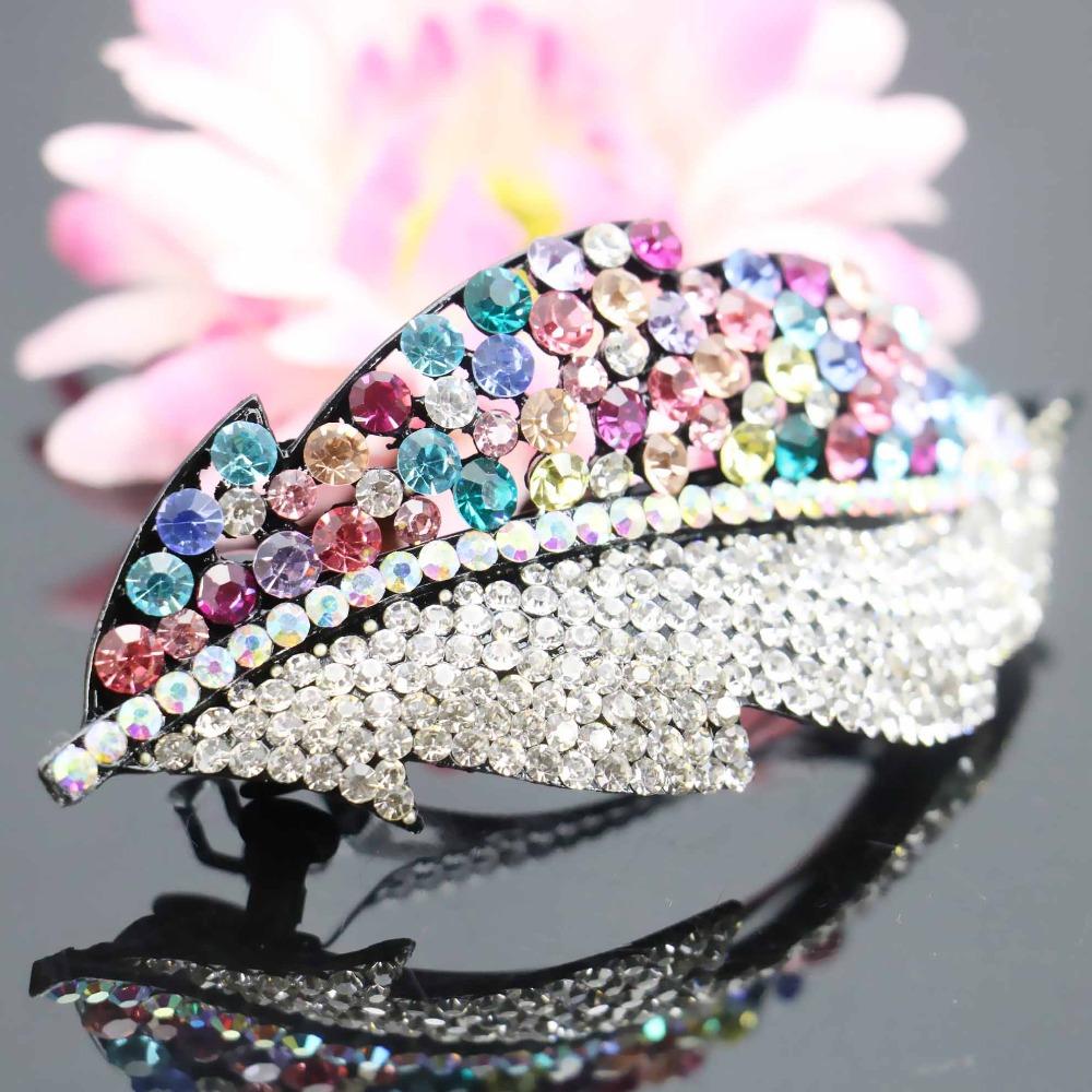 43*103mm Inlaid Rhinestone Wedding Headdress Headband Head Bands Headpiece Crystal Butterfly Gifts Jewelry Making Gifts(China (Mainland))