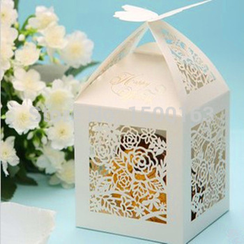Top 5 Best Wedding Gifts : Top-rated-50pcs-lot-Exquisite-White-Cutout-Flower-Laser-Cut-art ...