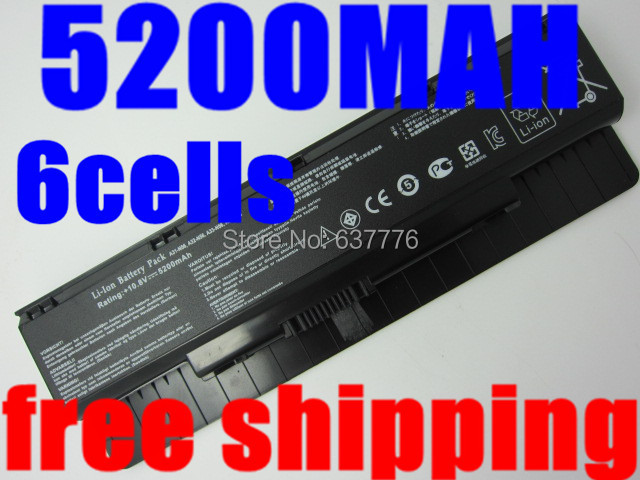 5200mah laptop battery ASUS A31-N56 A32-N56 A33-N56 N46 N76 N56 F55 N46V N56V B53V B53A F45A F45U N76V R500N N56D R503C - SUNWAY ELECTRONIC Store store