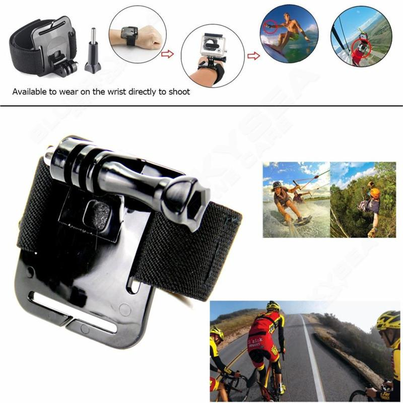 Free shipping!43 in 1 Accessories Spare Kit Set Housing Case For GoPro Hero 5 Action Camera