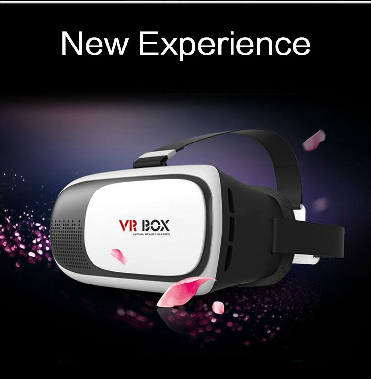 Virtual Reality 3D VR Glasses + Bluetooth Game Controller with Original Packaging VR BOX 2.0 Version for 3.5″ – 6.0″ Smartphone
