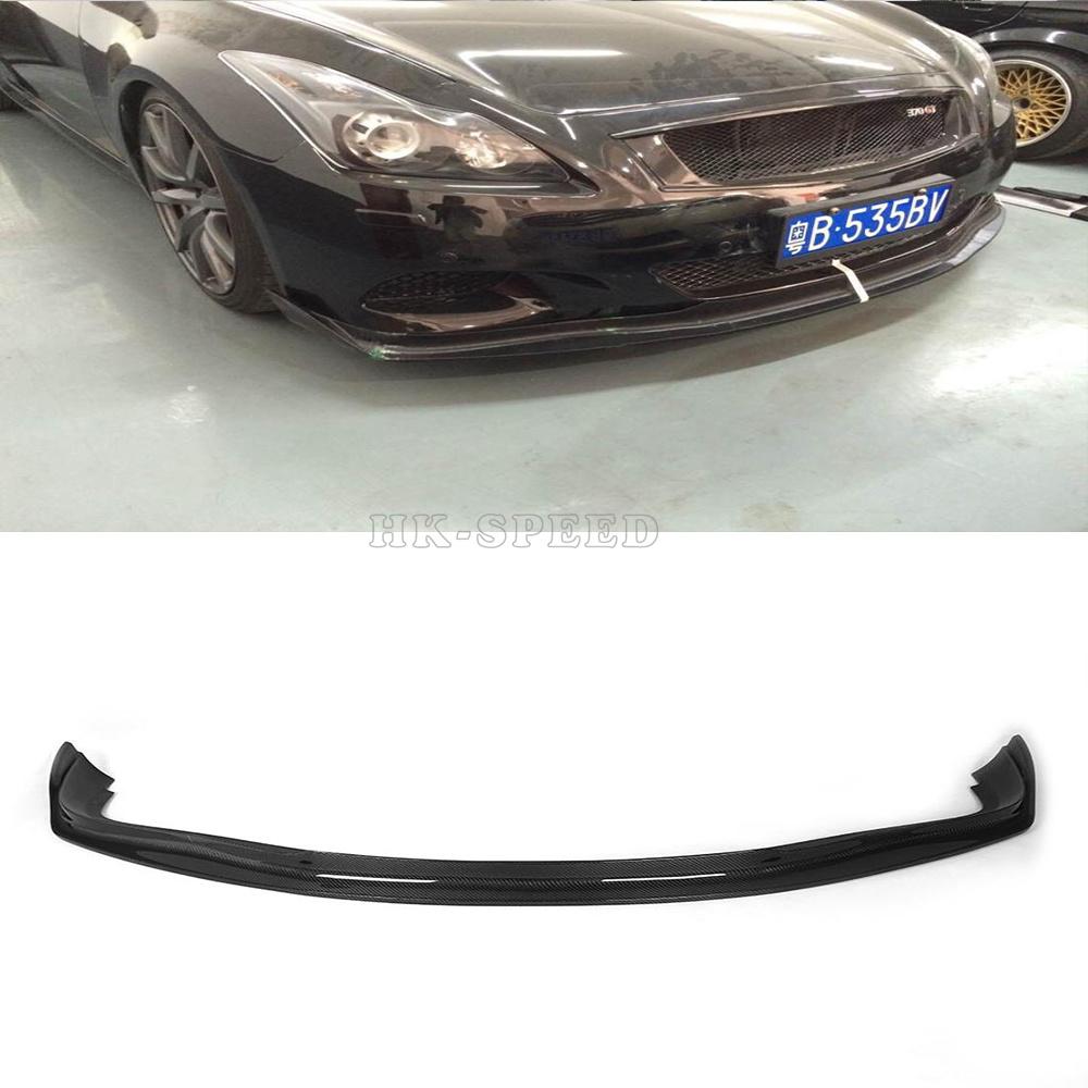 G37 jc styling carbon fiber car front spoiler for infiniti for Jc motors used cars