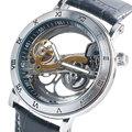 Luxury Brand SHENHUA Skeleton Dial Design Mechanical Automatic Wrist Watch Men Women Unisex Leather Men s
