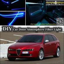Buy Alfa Romeo 159 AR interior Ambient Light Tuning Atmosphere Fiber Optic Band Lights Inside Door Panel illumination Tuning for $23.35 in AliExpress store