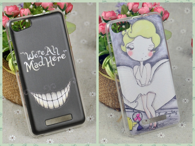 Free Shipping Phone Case BLU Dash M D030U Protective Soft TPU Cartoon Colored Printing Cell Phone Cases Covers(China (Mainland))