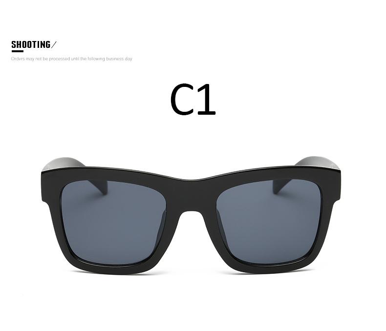 Black Frame Designer Glasses : Classic Retro Sunglasses Men Women Sports Square Sun ...