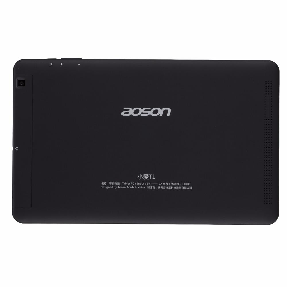 Aoson R101 Classic Black 10.1 inch Andriod 6.0 Tablets PC 16GB ROM 2GB RAM MTK 8163 Quad Core 800*1280 IPS 5000 mAh WIFI GPS