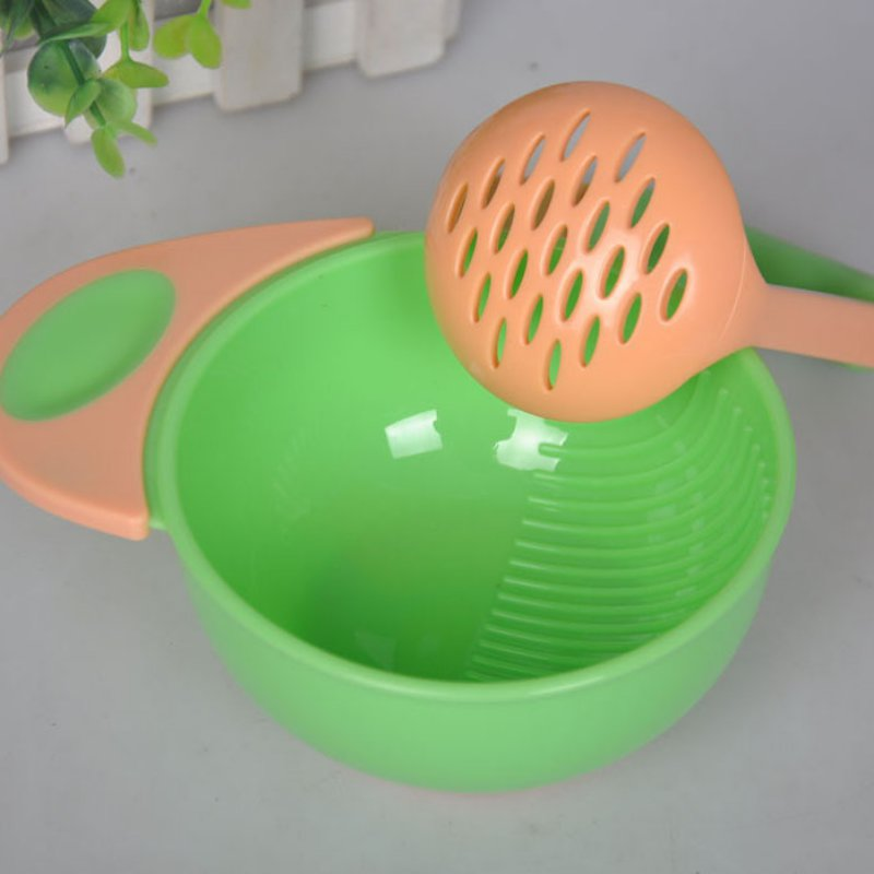 Baby Learn Dishes Grinding Bowl Handmade Grinding Food Supplement Children Infant Food Mill N2