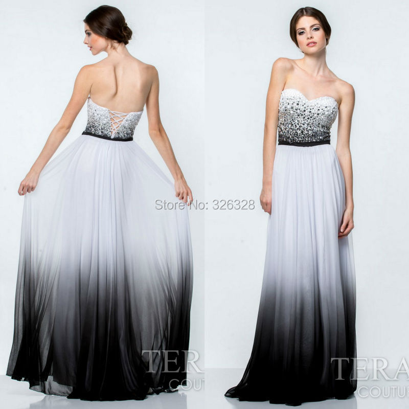 Old Fashioned Black And White Prom Dresses Uk Adornment - Wedding ...