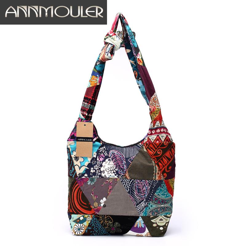 Bolsa De Tecido Hippie : Patchwork bolsas de tecido vender por atacado