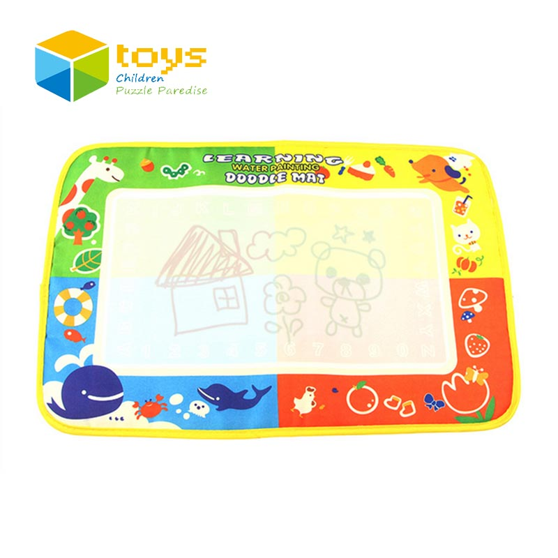 45X29cm 4 Color Drawing Board Water Painting Mat Doodle Mat Baby Play Mat Early Learning Educational Toys for Children Kids Gift(China (Mainland))