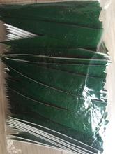 """100pcs  archery bow and arrow hunting wooden bamboo arrow 4"""" turkey feather  DIY right  wing"""