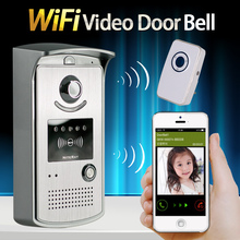 Buy Factory Direct Sale WiFi Wireless Video Door Phone Intercom System IR Night Vision Home Improvement Visual Door Ring for $104.55 in AliExpress store