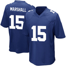 wholesale Men's New #15 Brandon Marshall jerseys 100% Stitched Embroidery Logos Royal Game Jersey fast Free Shipping hot sale(China (Mainland))