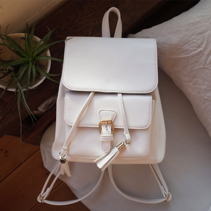 2016 Hot Sale PU Leather Backpack Women Fashion European Style Teenage Girls School Bag Casual Travel Shopping Backpacks WUJ0392(China (Mainland))