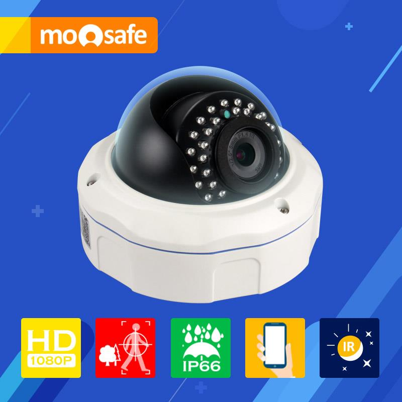 Mosafe 1080P wired Network IP Camera 1920*1080P indoor 30pcs LED IR night vision waterproof Onvif Surveillance Cameras(China (Mainland))