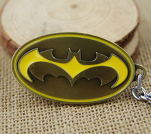 DC Comics Movie Batman Vs Superman Action Figure Metal Keychain Toy Pendant Chaveiro Stainless Steel Toy Gags&Practical Jokes(China (Mainland))