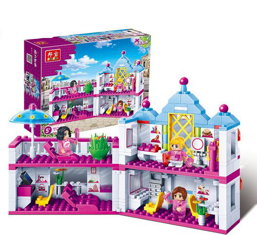 Friends Girls 6111 Banbao City Beauty Salon Building Blocks Sets Buildable Bricks toys Compatible with Legoe<br><br>Aliexpress