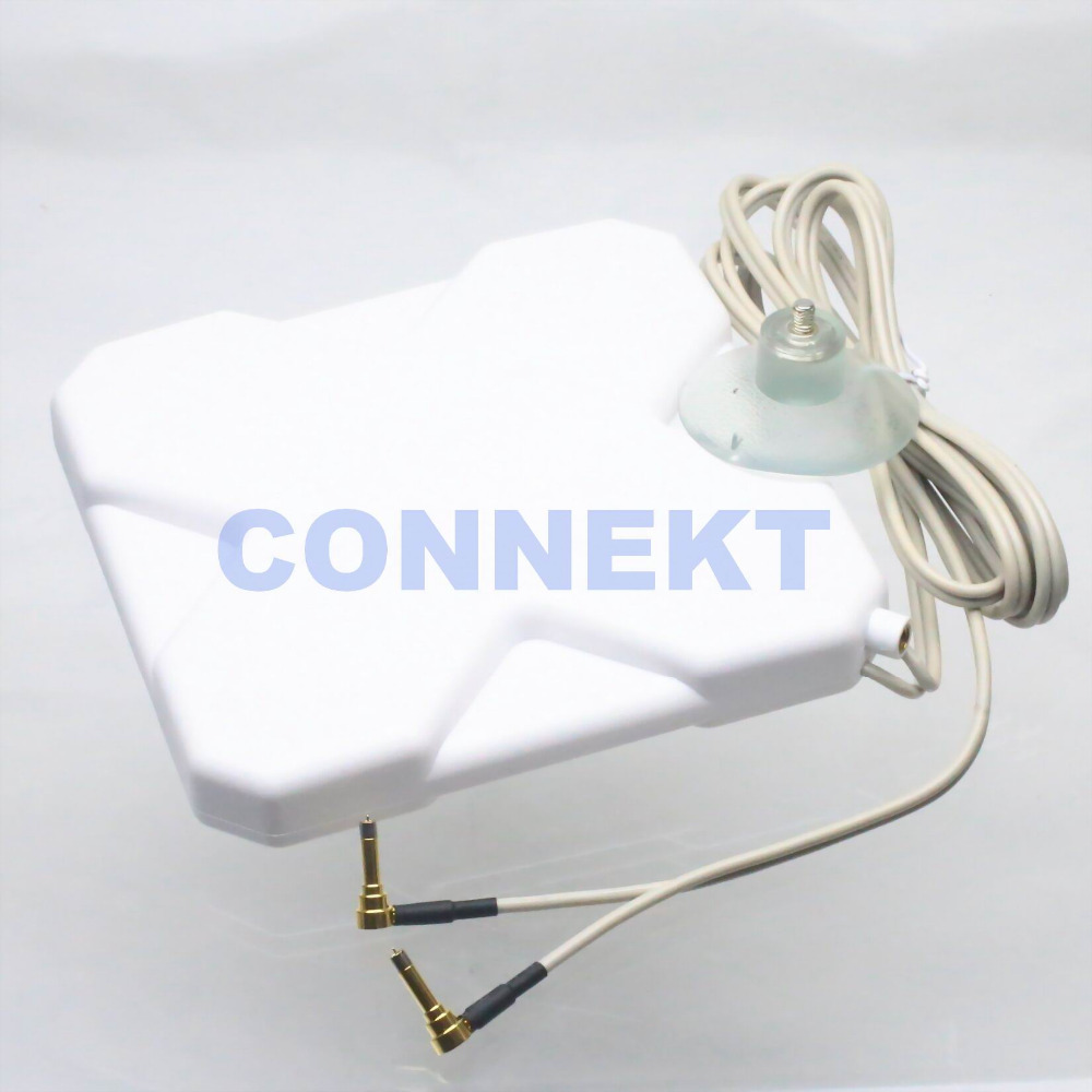 GPRS GSM 3G 4G LTE MS156 plug 35dBi antenna 2M cable 791-2690MHz Booster Signal(China (Mainland))