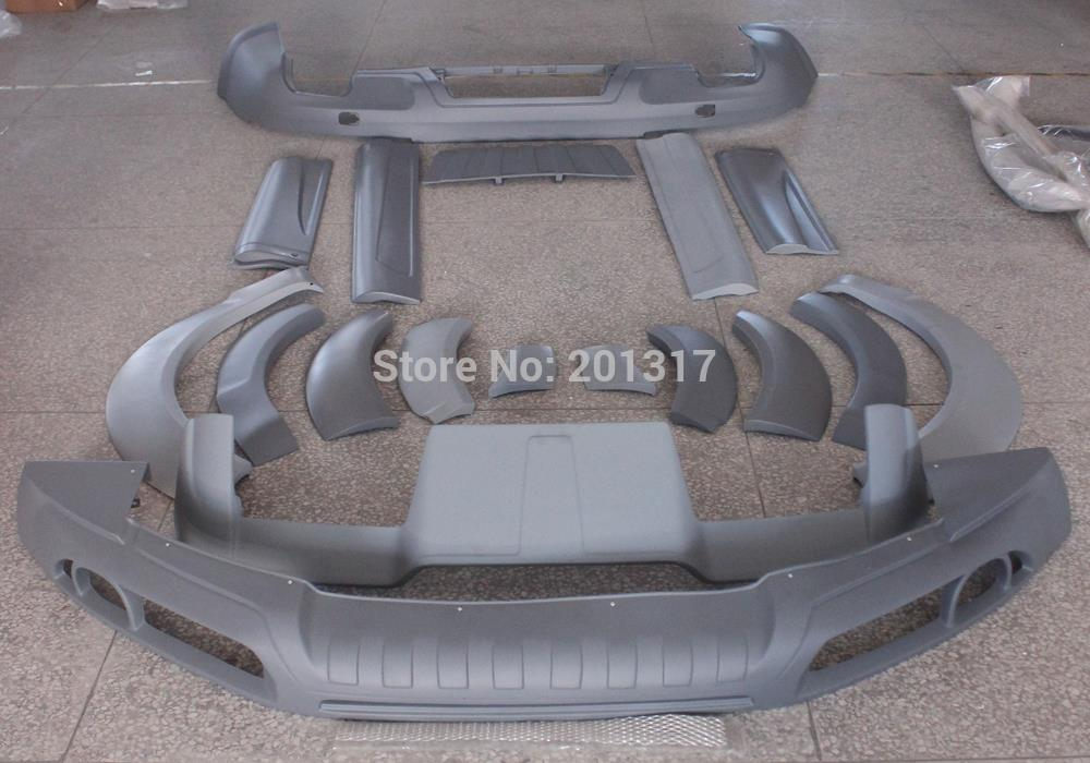 Unpainted PU Material 08-09 A Style Q7 Car Body Kits for AUDI fit for Standard Q7 Bumper<br><br>Aliexpress