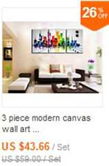 Buy 4 piece abstract modern canvas wall art decorative Palette Knife paint handmade oil painting canvas for living room decoration cheap