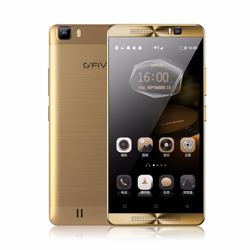 Gfive L3 5.5'' Mobile Phone Android 6.0 5000mAh MT6580M Quad Core Smartphone 2GB RAM 16GB ROM Dual Camera Sim GPS FM CellPhone(China (Mainland))