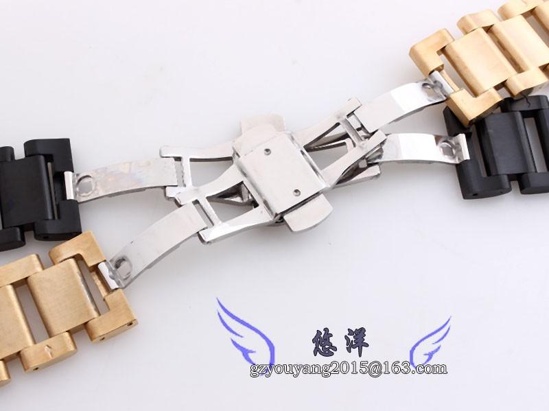 Нержавеющая сталь Ремешок Для Часов прочный металлический ремешок бабочка пряжка 18 мм 20 мм 21 мм 22 5mmsilver черный ширина