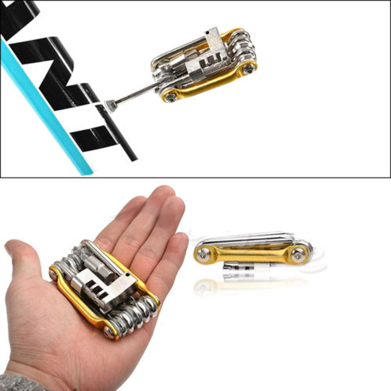 Portable Multi-function Bike Bicycle Wrench Chain Cutter Cycling Repair Tool Mini Bicycle Repair Tool(China (Mainland))