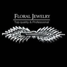 New 2015 Leaf Crystal Imitation Gemstone Bridal Hair Combs Bowknot Hairgrips Wedding Hair Accessories Hair Jewelry