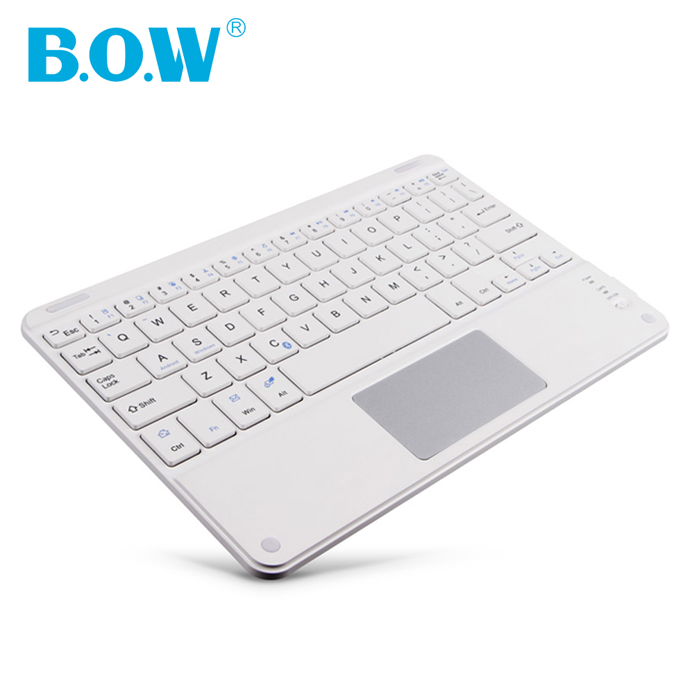Slim Touchpad Universal keyboard Wireless Bluetooth Keyboard for Windows/IOS/Android Laptop/Tablet/Smartphone,Bluetooth touchpad(China (Mainland))