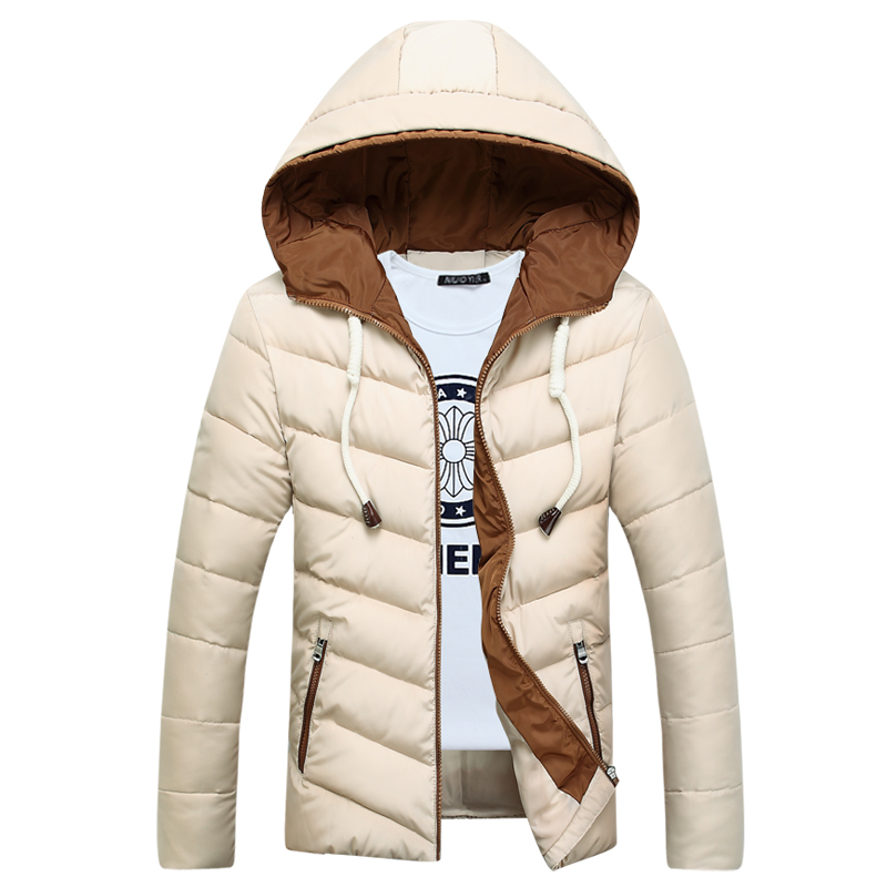Fashion Free Shipping Men Winter Hooded Coat Down Jackets for Men Thick Outwears for men Parkas Plus Size QH9366Одежда и ак�е��уары<br><br><br>Aliexpress