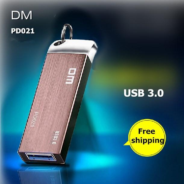 DM PD021 USB Flash Drives 64G 32G 16G Metal USB 3.0 High-speed Pen Drive Waterproof Business Pendrive USB Stick Free shipping(China (Mainland))