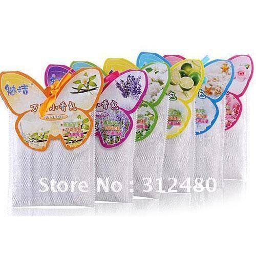 Muti-purpose Air Freshener Bag,Perfume Scented Sachet Bags,Free shipping 10PCS/LOT
