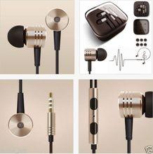 cho xiaomi kim loại tai nghe tai nghe trong tai tai nghe piston tai nghe với điều khiển từ xa mic cho iphone samsung xiaomi mi2 mi2s