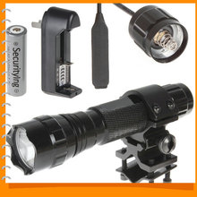 LED Flashlight Torch & Bicycle Bike Flash light