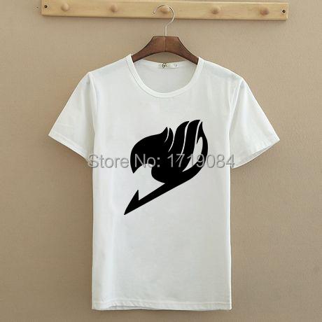 Women T Shirts Fashion Fairytail Tees Shirt Japanese Famous Anime Tshirts Fairy Tail Funny T shirts