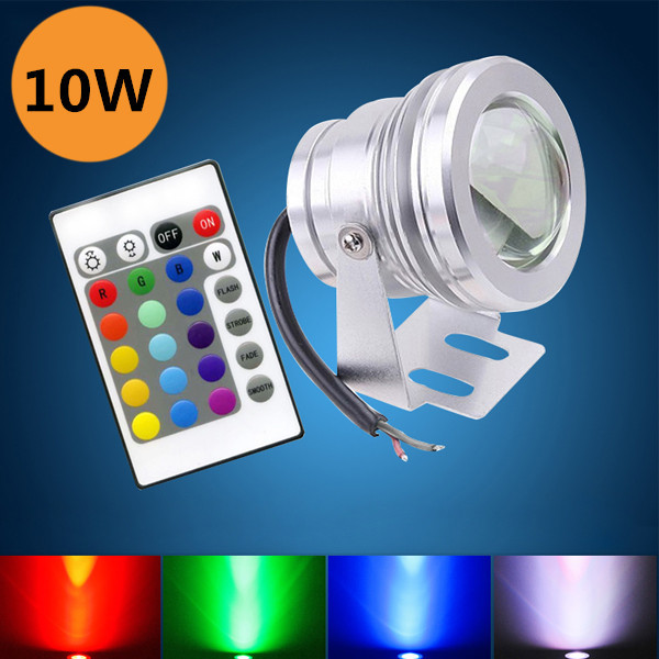 Nice Discount 10W Led Underwater Lights For Aquarium/Swimming pool Night Lighting DC12V RGB Colorful Light Belt Remote Control(China (Mainland))