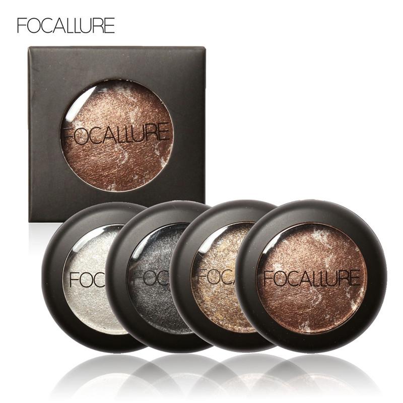 Single Baked Eye Shadow Powder Makeup Palette in Shimmer Metallic Glitter Cream Eyeshadow Palette(China (Mainland))