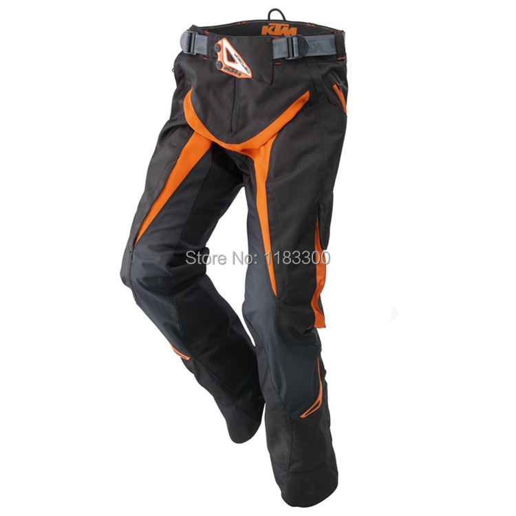 2015 Power Wear KTM Hydroteq Pants Riding Rally Racing protective Motocross Motorcycle racing trousers black