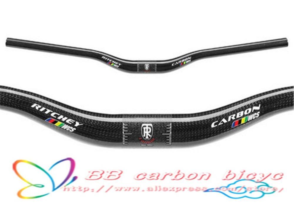 12 COLOR 125g Matte full carbon handlebar MTB bike bicycle flat handlebar bars 600/620/640/660/680/700/720mm(China (Mainland))