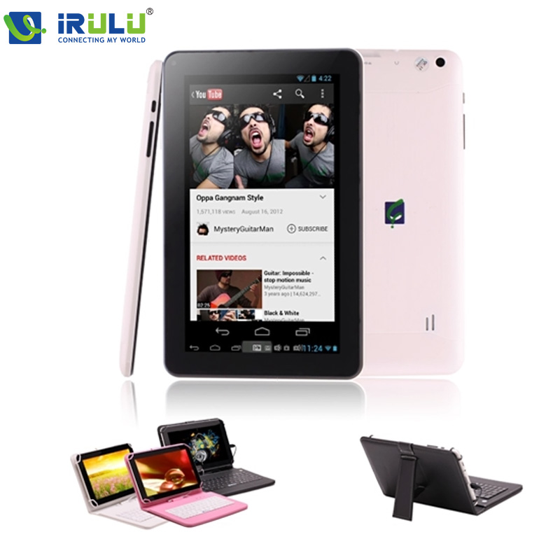 "iRULU eXpro X1Pro 9"" Tablet PC Quad Core Android 4.4 Tablet WIFI Dual CAM Download Google Play APP With Keyboard Case New Hot(China (Mainland))"