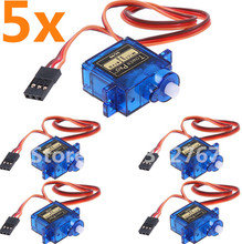 5PCS/lot Towerpro SG90 Micro Servo motor 9g Acessorios For Arduino/aeromodelismo Align Trex 450 RC Airplane Helicopter Toy motor