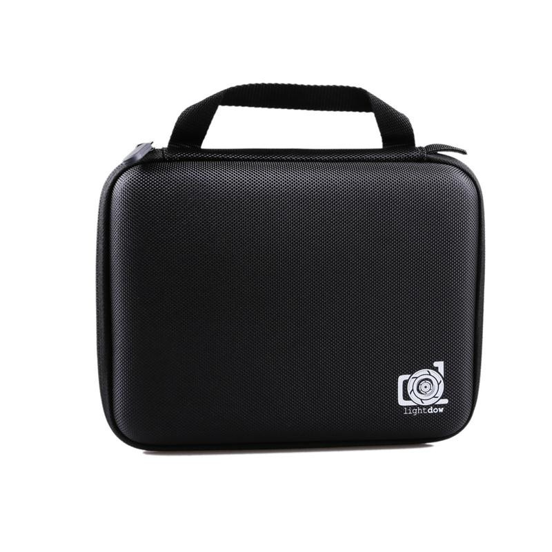 image for Lightdow Medium Gopro Case Water Resistant Protective EVA Bag Storage