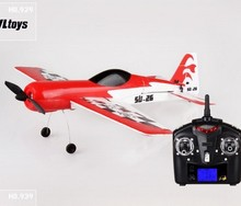 Wltoys F939 4CH RC Airplane RTF 2.4Ghz LCD Transmitter remote control toys free shipping(China (Mainland))