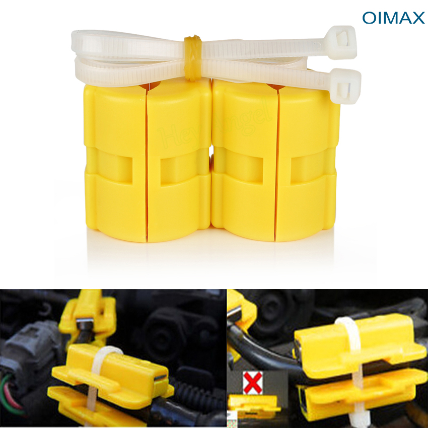 HOT SALE Universal Magnetic Gas Fuel Power Saver for Car Vehicle Reduce Emission Car Accessories(China (Mainland))