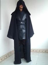 New High quality Star Wars comic black knight Darth Vader cosplay costume cloak
