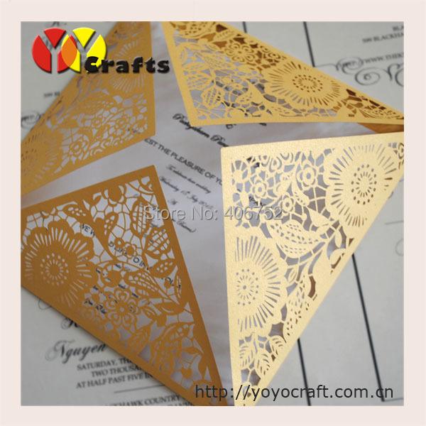 2016 hot sale invitation cards paper laser cut wedding for Wedding invitation paper for sale
